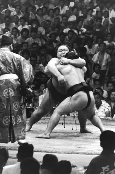 Sumo championship, Tokyo, Japan – 1963