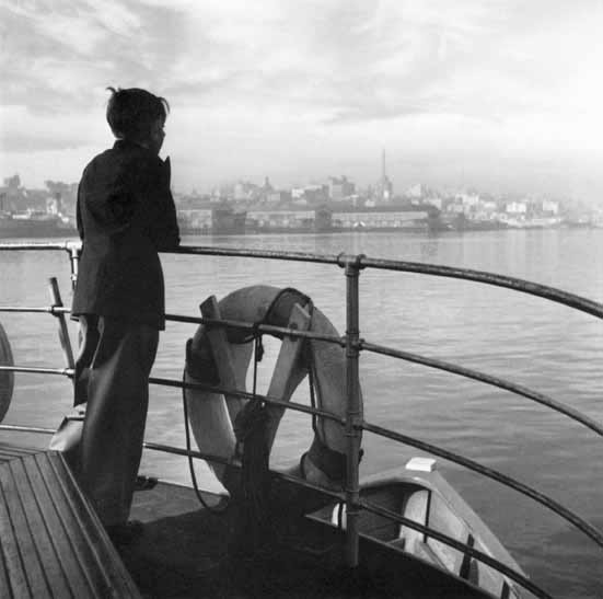 Boy on ferry, Darling Harbour – c.1947