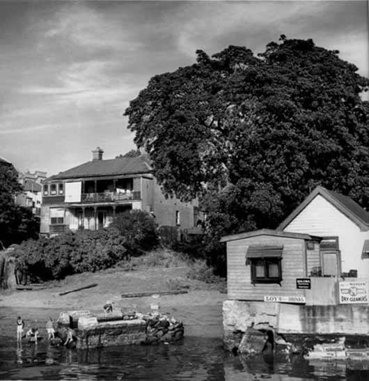 Balmain waterfront – c.1947