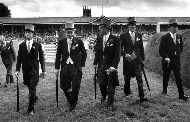 Judges at the Dublin Horse Show – 1956