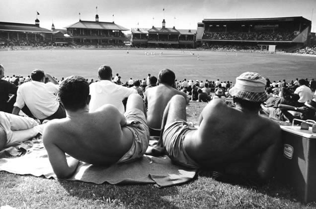 Sydney Cricket Ground from the Hill –1963