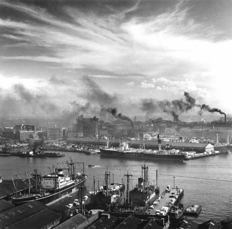 Darling Harbour and Pyrmont docks – c.1948