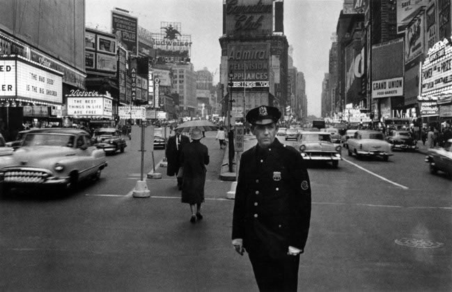 Times Square, New York City – 1956