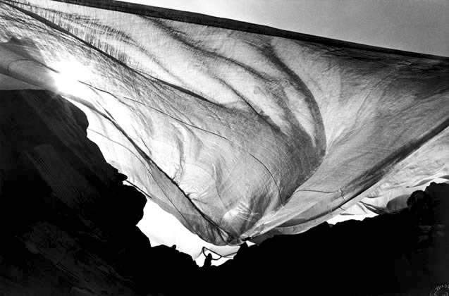 Christo wraps the coastline, New South Wales – 1969