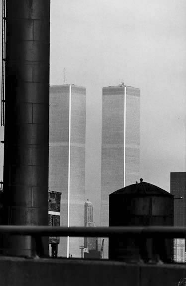 Lower Manhattan from New Jersey 3 – 1974