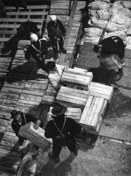 Refigerated cargo stowage – 1950