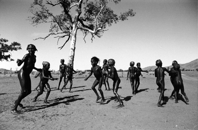 Pitjantjatjara children 1, South Australia – 1963