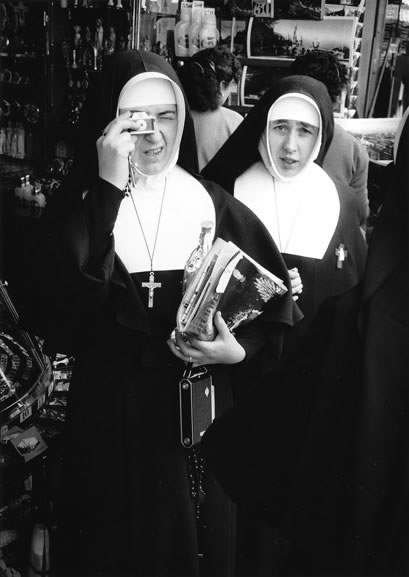 Nuns at Lourdes Centenary, France – 1958