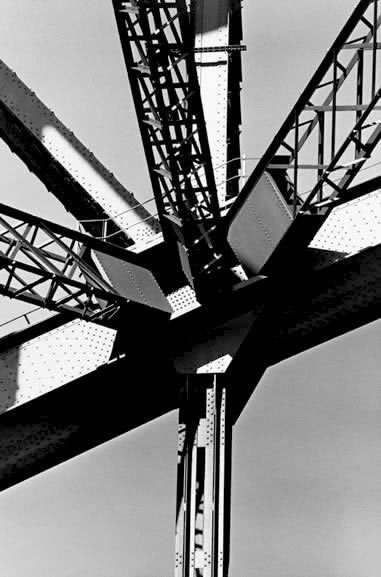 Harbour Bridge steelwork 2, Sydney – 1981