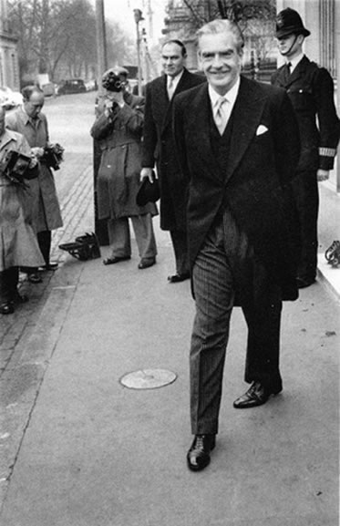 Sir Anthony Eden, London – 1956