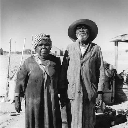 Aboriginal couple, Finnis Springs Mission, South Australia – 1959