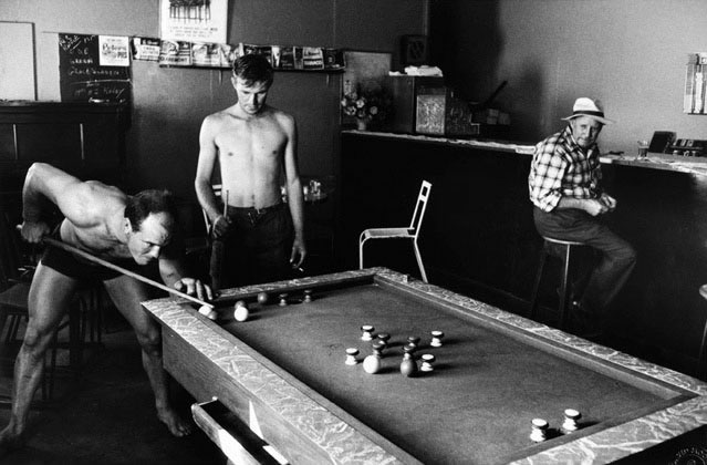 Bar billiards, Lancelin, Western Australia – 1963