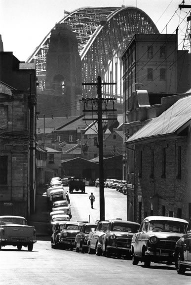 The Rocks district from Harrington Street – 1960