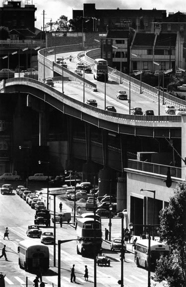 Cahill Expressway at Circular Quay – 1962