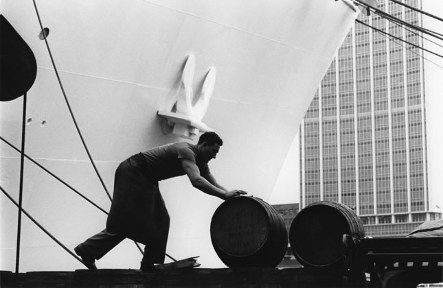 Port worker Circular Quay – c.1961