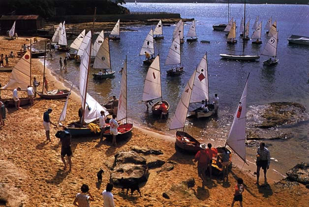 Sabot dinghies at Vaucluse – 1962