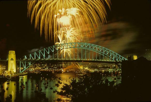 Bicentennial fireworks, Australia Day – 1988