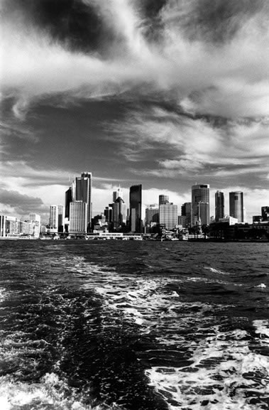 Sydney and Circular Quay from Kirribilli – c.2001
