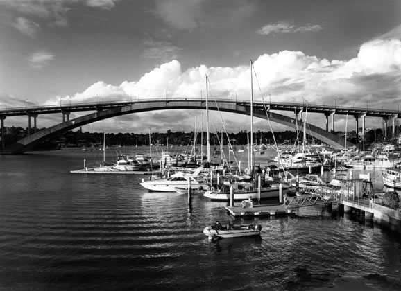 Gladesville Bridge looking east – c.2001