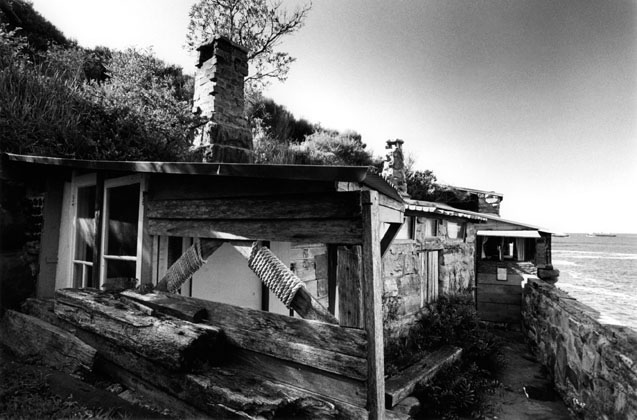 Chowder Bay fishermans huts – c.2001