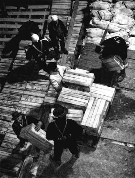 Cargo storage, <em>Himalaya,</em> Sydney – 1950