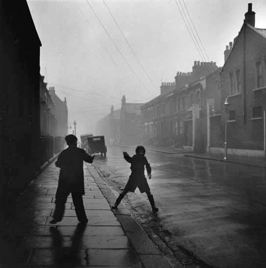 Pimlico Street, winter, London – c.1952