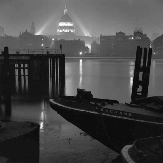 St Pauls Cathedral from Bankside, London – c.1952