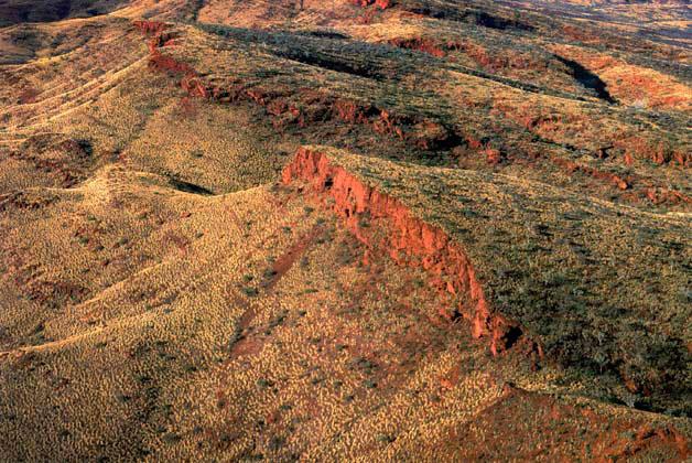Paraburdoo landscape 2, the Pilbara, Western Australia – 1985