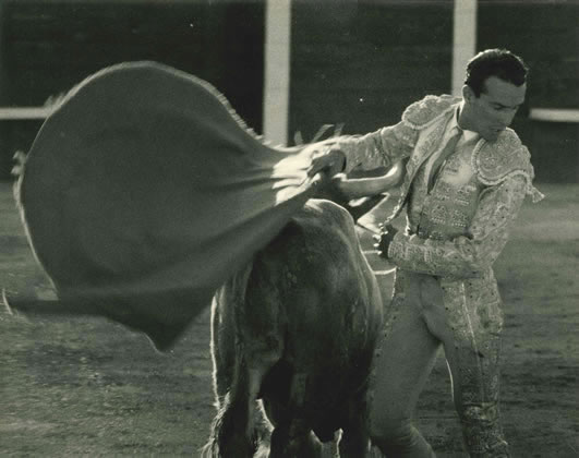 Bullfighter, Barcelona, Spain – 1955