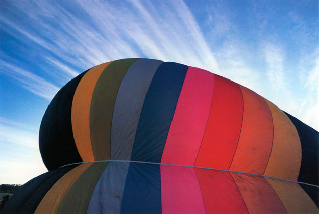 Inflating balloon, Canowindra, New South Wales – 1981