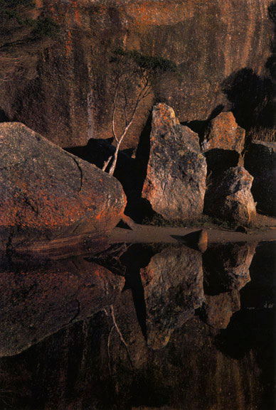Tidal river rocks, Wilsons Promontory, Victoria – 1969