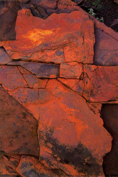 Pilbara rock detail 1, Western Australia – 1985