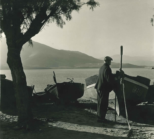 Spanish fisherman, San Feliu – 1955