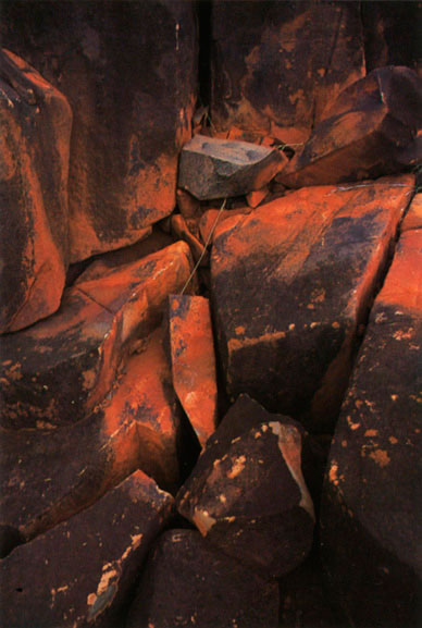 Pilbara rock detail 2, Western Australia – 1985