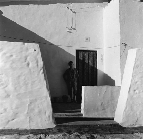Spanish house and boy – c.1955