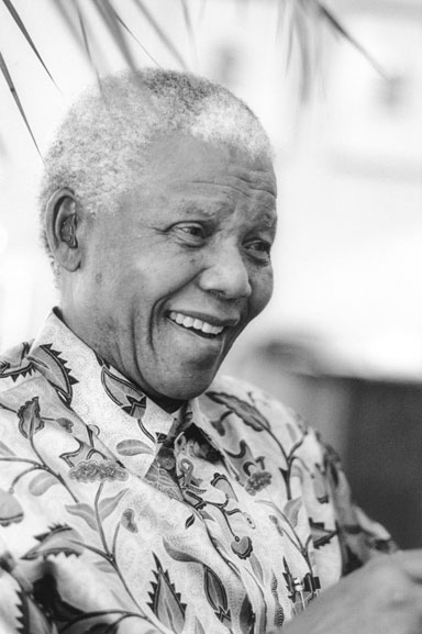 3. Nelson Mandela at the Hilton Hotel (smile), Sydney – 2000