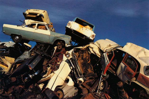 Scrap cars, Sydney – 1971