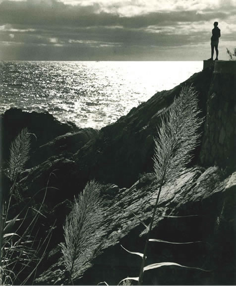 Silhouette on Spanish coast – c.1955