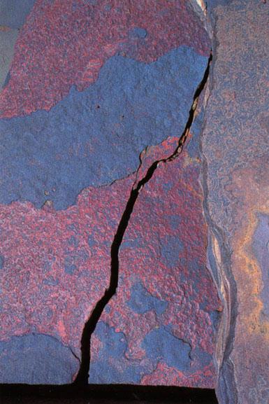 Pilbara rock detail 4, Western Australia – 1985