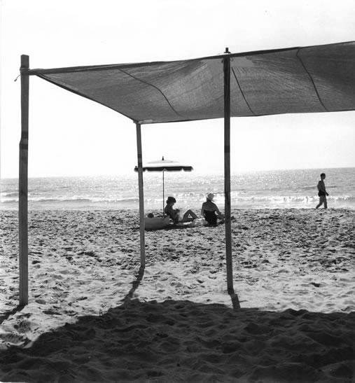 Sitges beach, Costa Brava – 1955