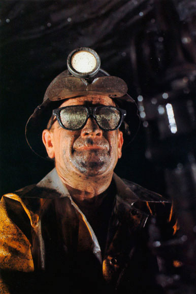 Zinc miner Dick Simons, Broken Hill, New South Wales – 1966