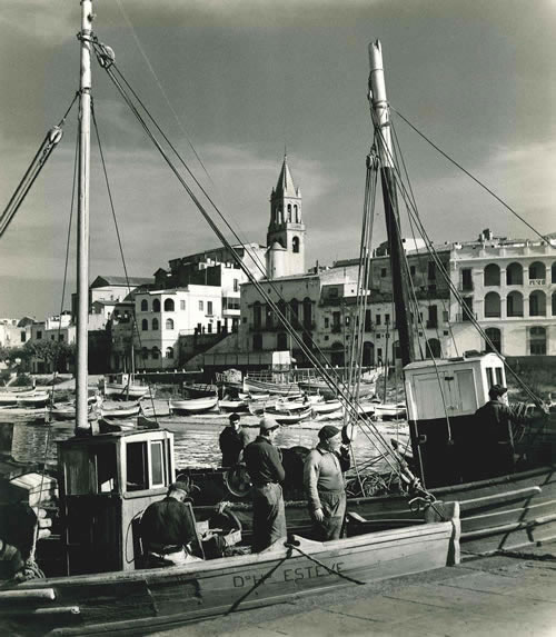 Spanish port, Costa Brava – c.1956