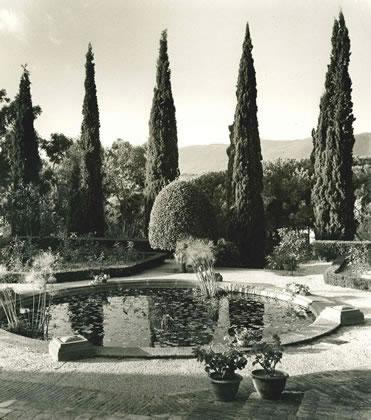 Garden at Hostal de la Gavina, S'Agaro – 1955