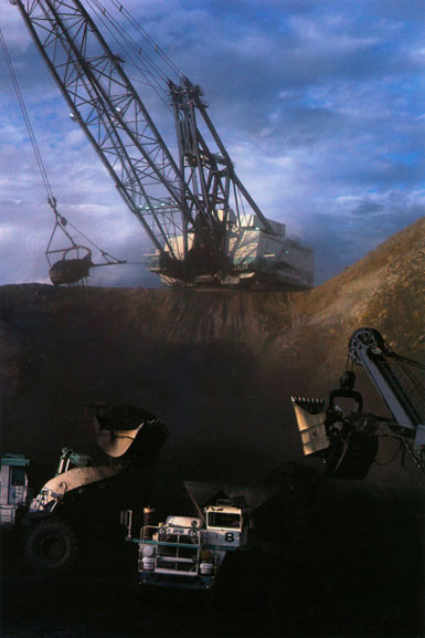 Coal mining, Central Queensland – 1978