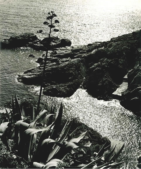 S'Agaro coastline, 2 – c.1955
