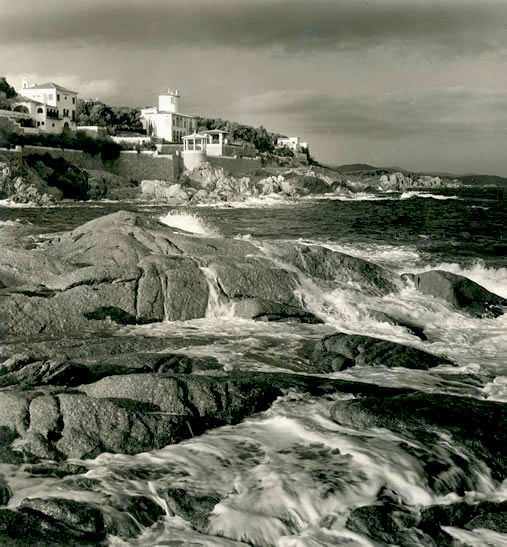 S'Agaro coastline – 1955