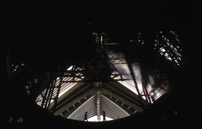 Opera House Interior Construction – 1967