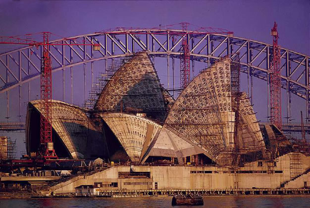 Sunrise on the Opera House – 1966