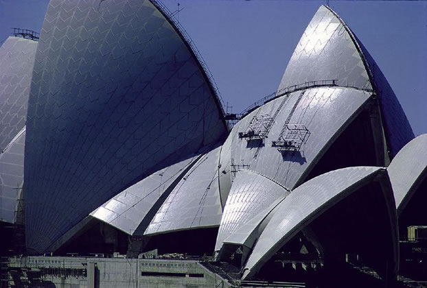 Sydney Opera House construction – 1967