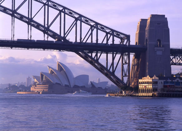 Winter sun on the Opera House – 1992